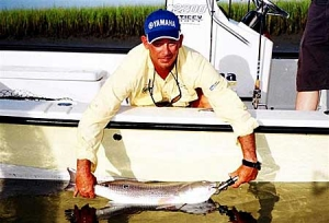 Captain Charles Parker of Hooked Up Fishing - Charter Information