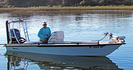 Captain Charles Parker with Hooked Up Fishing fishing charter boat St Augustine FL